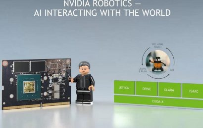 Nvidia launches simulation platform for robots