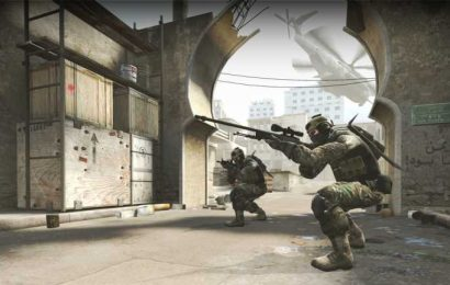 CS:GO streamer throws AWP to bait an opponent and knife them