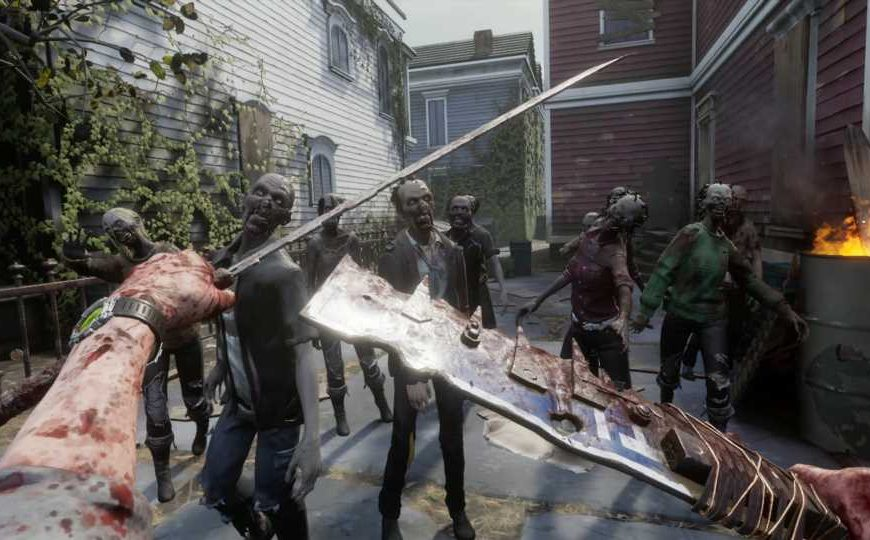 Cas & Chary Present: 'The Walking Dead: Saints & Sinners' Gameplay Overview – Road to VR