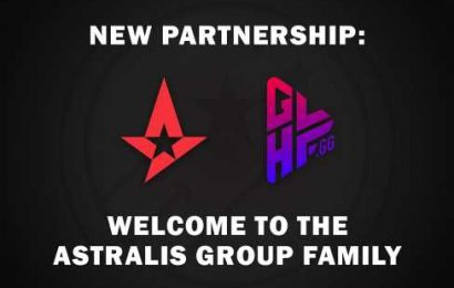 Astralis Group enters partnership with GLHF