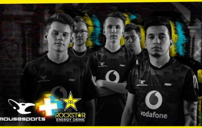 mousesports adds Rockstar as energy drink partner