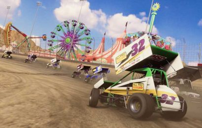 Tony Stewart's Sprint Car Racing Arrives This Month on Console and PC