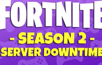 Fortnite Season 2 Downtime: Epic Games server shutdown start time confirmed