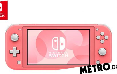 Nintendo Switch Lite has new coral pink colour console