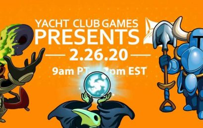 Yacht Club Games Will Host Its Own Direct Livestream