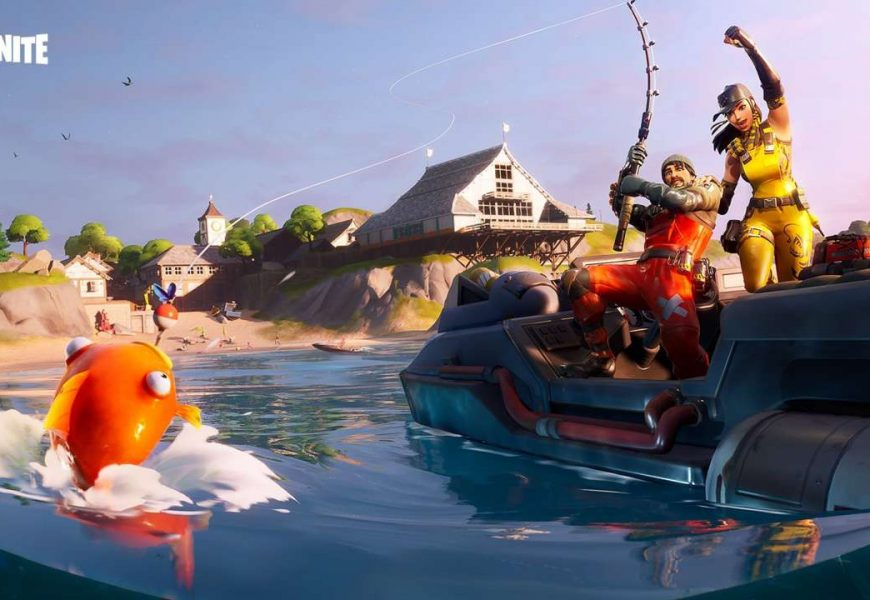 Fortnite C2 S1 No Fishing Signs: Where To Catch Items With A Fishing Rod