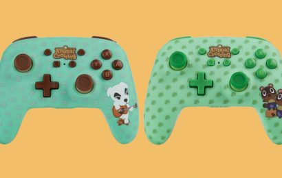 These Animal Crossing: New Horizons Switch Controllers Are Adorable