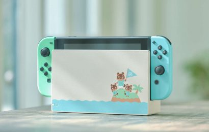 Lovely New Animal Crossing Switch Console Up For Pre-Order Now