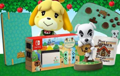 Best Animal Crossing: New Horizons Merch: Switch Console Skins, Pre-Order Bonuses, And More