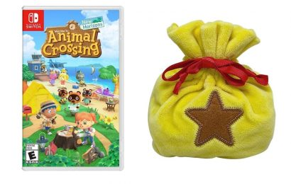 Animal Crossing: New Horizons Bundle Includes Cute Bell Bag