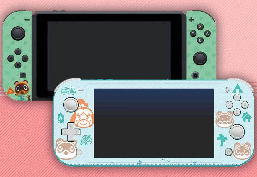 Deck Out Your Switch With These Animal Crossing: New Horizons Console Skins