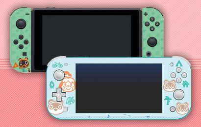 These Animal Crossing: New Horizons Switch Console Skins Are Adorable