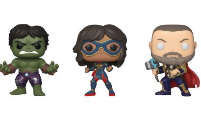 Toy Fair 2020: See The New Marvel's Avengers Game Funko Pops