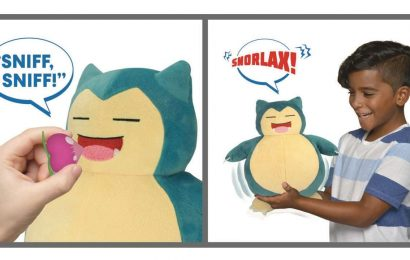 Toy Fair 2020: New Pokemon Toys Let You Interact With Eevee And Snorlax