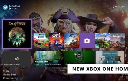 Xbox One System Update Rolling Out To All Users