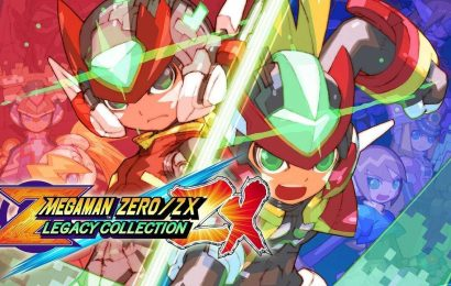 Mega Man Zero/ZX Legacy Collection Discounted In Capcom PC Sale