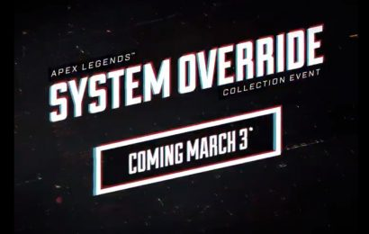 Apex Legends announces System Override event for next week