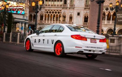 Aptiv's self-driving cars have given Lyft passengers over 100,000 rides