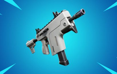 The new Fortnite Season 2 Rapid-Fire SMG shoots insanely fast
