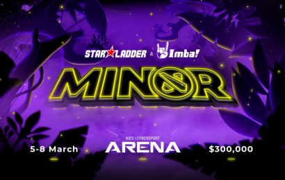 The Group Stage for the StarLadder ImbaTV Dota 2 Season 3 Minor is set