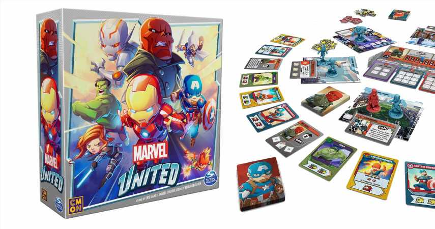 Marvel United Kickstarter Reached Its Funding Goal In Just 31 Minutes