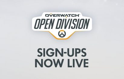 Overwatch: Registration for Open Division Season 2 begins today