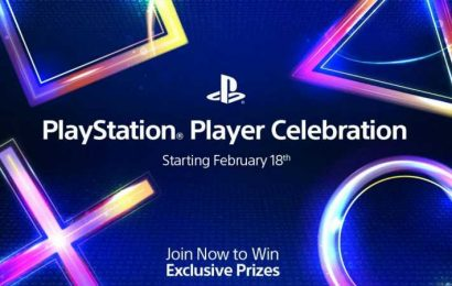 PlayStation Announces Player Celebration Event & Prizes Just For Playing Games