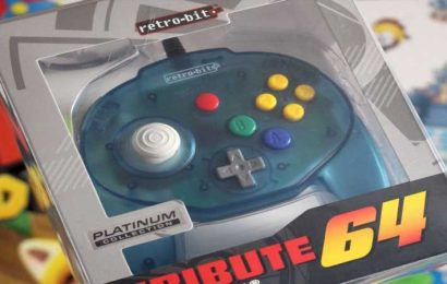 Retro-Bit (Sort Of) Brings The Nintendo 64 Controller To Switch