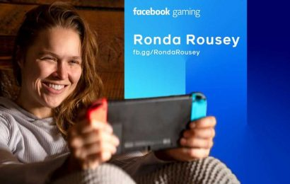 Former UFC champion Ronda Rousey joins Facebook Gaming