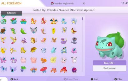 Many Pokémon transferred from Pokémon HOME can't be used competitively