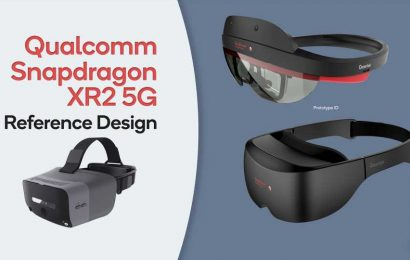 Qualcomm Shows New Reference Designs for XR2 VR & AR Headsets
