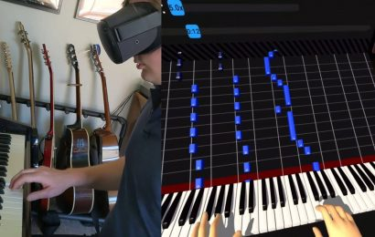 I Learnt The Tetris Theme Using A VR Headset, Calibrated To A Real Piano