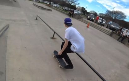 xQc Gets Back To His Roots In Skate Park Stream