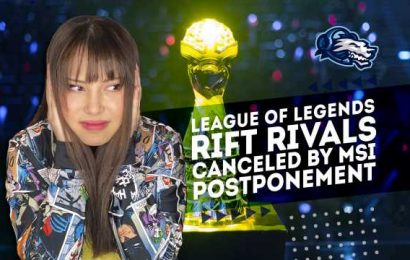 Video: League of Legends Rift Rivals canceled in light of MSI postponement – Daily Esports