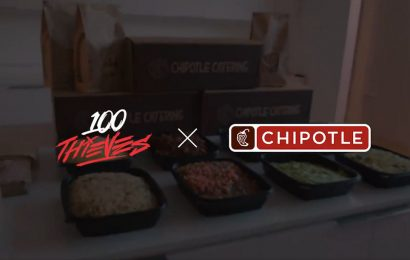100 Thieves partners with Chipotle through 6-minute ad