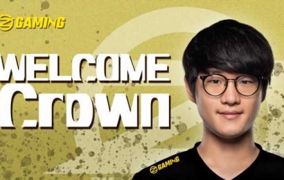 Crown leaves NA, joins South Korean Challenger team OZ Gaming