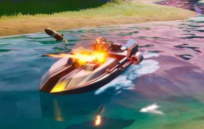 Fortnite player finds new way to complete the motorboat challenge