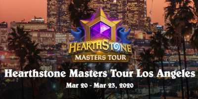 Hearthstone Master Tour Los Angeles now played online-only