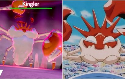 Pokémon Sword & Shield: How To Find & Evolve Krabby Into Kingler