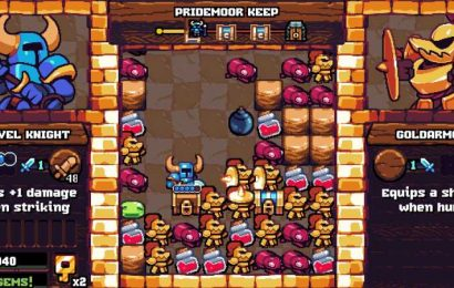 Shovel Knight Pocket Dungeon Announced (And It Looks Like Tetris)