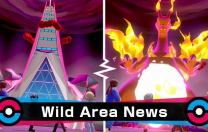 Pokémon: New Wild Area event features G-Max Duraludon and others