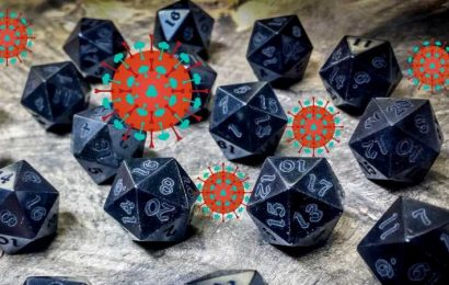 Dungeons & Dragons Players: Wash Your Dice