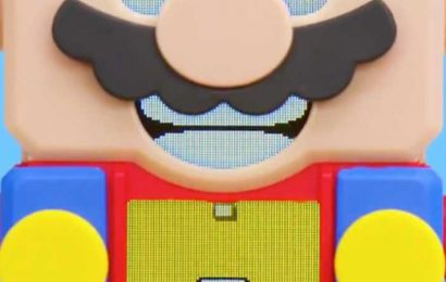 Nintendo & Lego Are Building A Lego Super Mario Partnership