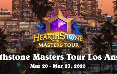 Hearthstone Masters Tour Los Angeles will now take place online