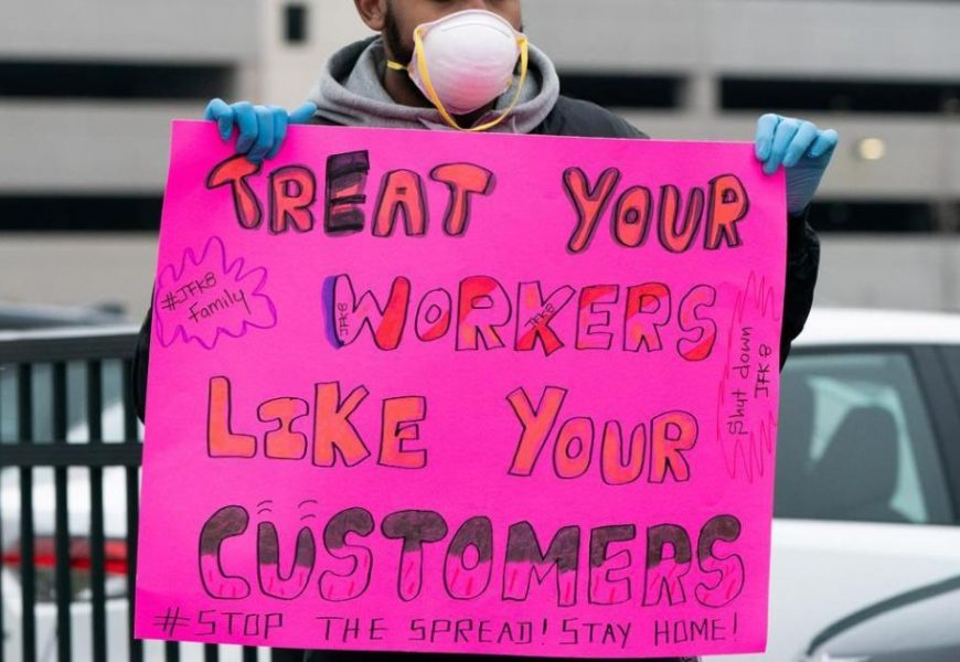 Amazon and Instacart workers strike over safety and pay concerns during coronavirus crisis