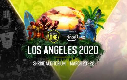 "ESL One Los Angeles 2020 will ""happen as planned"" despite health emergency proclamation in LA county"