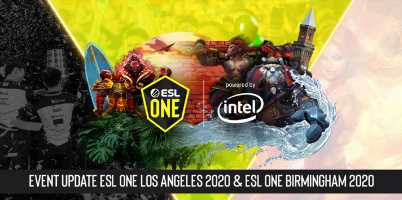 ESL Chooses Online-Only Format for Los Angeles and Birmingham Dota 2 Events