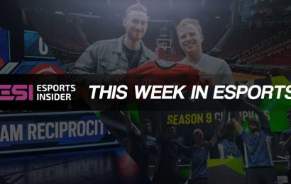 This week in esports: Betting, Gen.G, Team Reciprocity, Tribe Gaming – ESI