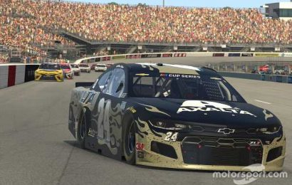 Who can topple Byron and other sim racing pros in eNASCAR?