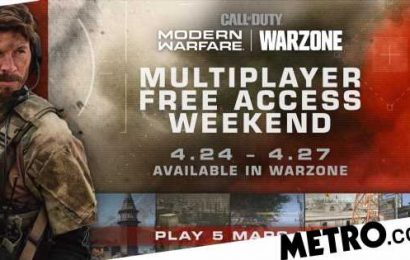 Play Call Of Duty: Modern Warfare multiplayer maps free this weekend via Warzone